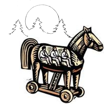 dessin cheval de Toie